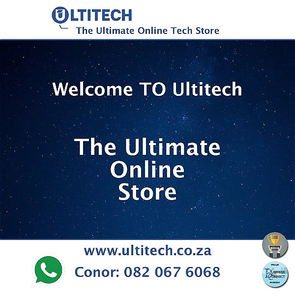 Ultitech is your one stop shop for Laptops and Computers. Ultitech also stocks Solid State Drives (SSD) and can do maintenance. Give Conor a try. This logo was designed in Johannesburg South Africa