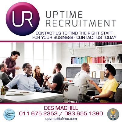 Recruitment for business. This logo was designed in Johannesburg South Africa