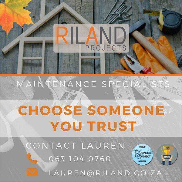 Riland Projects, Decking, Tiling, Flooring, Skirting, Painting, Alterrations and Maintenence
